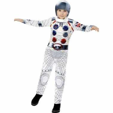 Astronauten carnavalskleding jongens helmond