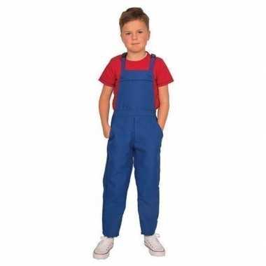 Blauwe verkleed carnavalskledingl kinderen helmond