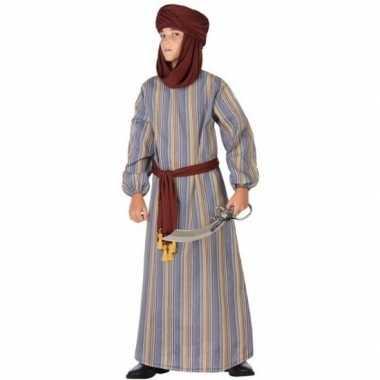 Carnaval/feest lange arabische verkleedcarnavalskleding ali jongens