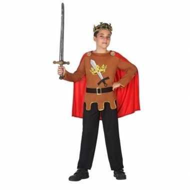 Carnaval/feest ridders/koningen verkleedcarnavalskleding jongens hel