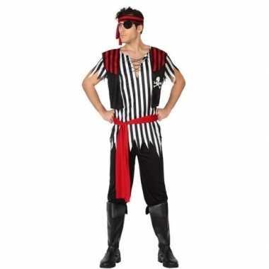 Carnaval piraten carnavalskleding jack heren helmond