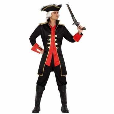 Carnaval piraten carnavalskleding jas kapitein william heren helmond