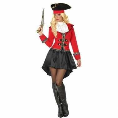 Carnaval piraten carnavalskleding kapitein grace dames helmond