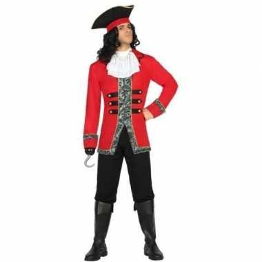 Carnaval piraten carnavalskleding kapitein james heren helmond