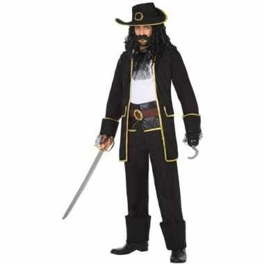 Carnaval piraten carnavalskleding kapitein thomas heren helmond
