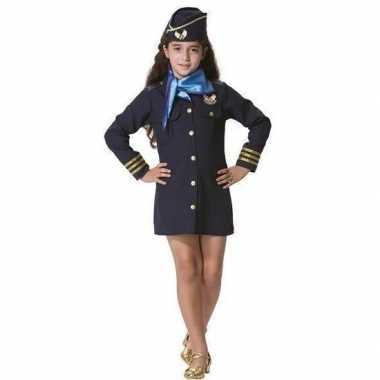 Carnaval stewardess verkleed carnavalskleding meisjes helmond