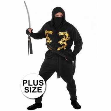 Carnavalscarnavalskleding ninja heren xxl helmond