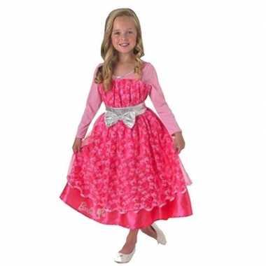 Carnavalskleding barbie luxe verkleedjurk meisjes helmond