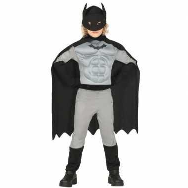 Carnavalskleding batman carnavalskleding grijs zwart helmond