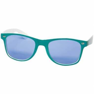 84d10f2fa861c1 Carnavalskleding Blauw witte retro brillen helmond ...