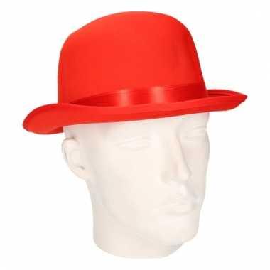 Carnavalskleding bolhoedje rood volwassenen helmond