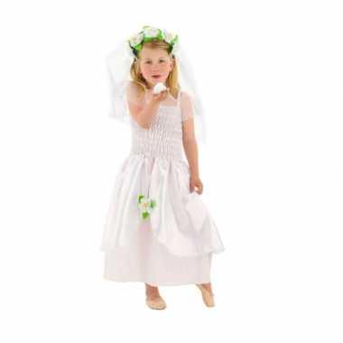 Carnavalskleding bruid verkleed jurk meisjes helmond