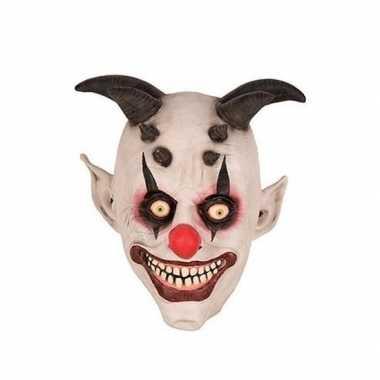 Carnavalskleding clownsmasker latex helmond