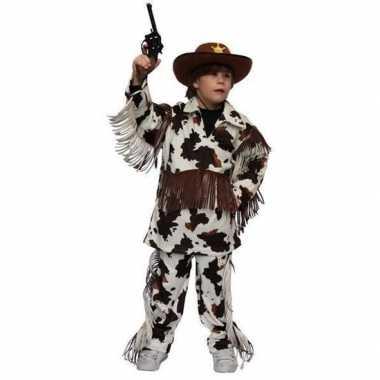 Carnavalskleding cowboy carnavalskleding koeienprint kids helmond