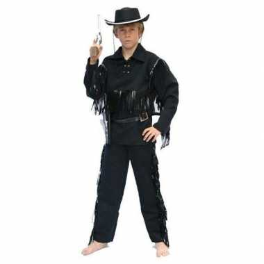 Carnavalskleding cowboy carnavalskleding zwart kids helmond