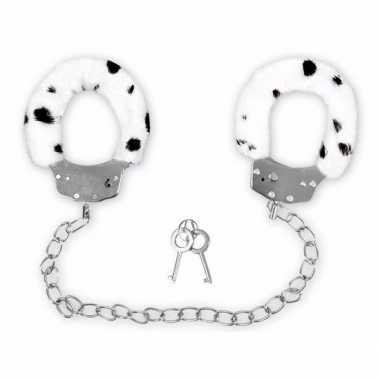 Carnavalskleding dalmatier print handboeien enkels helmond