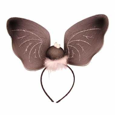 Carnavalskleding diadeem vleermuisdecoratie helmond