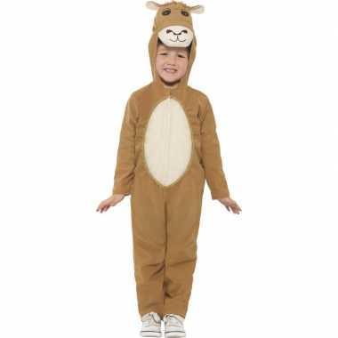 Carnavalskleding dieren onesie kameel kids helmond