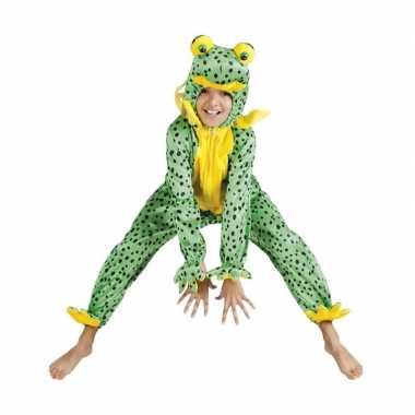 Carnavalskleding dieren onesie kikker kids helmond