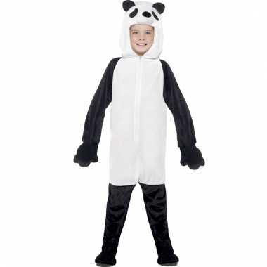 Carnavalskleding dieren onesie panda kids helmond
