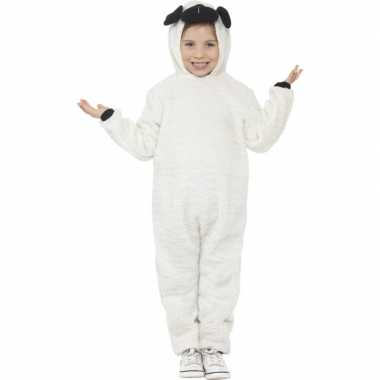 Carnavalskleding dieren onesie schaap kids helmond