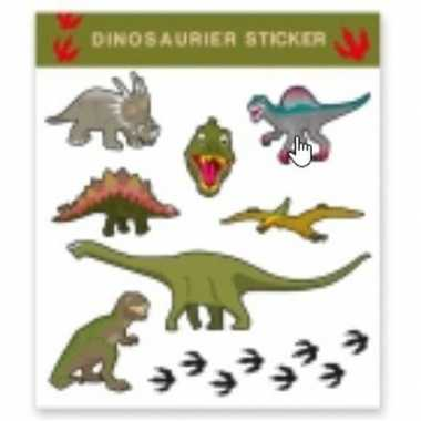 Carnavalskleding dinosaurus thema tattoo stickers stuks helmond