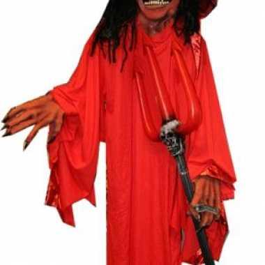 Carnavalskleding duivel pop decoratie helmond