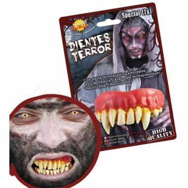 Carnavalskleding eng horror gebit monster tanden helmond
