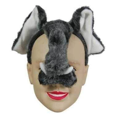 Carnavalskleding  Feestmasker olifant helmond