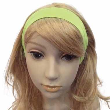 Carnavalskleding felgroene haarband helmond