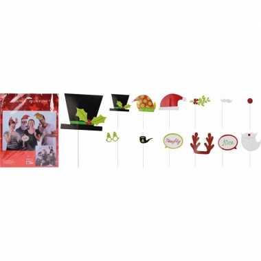 Carnavalskleding foto props set kerst accessoires helmond