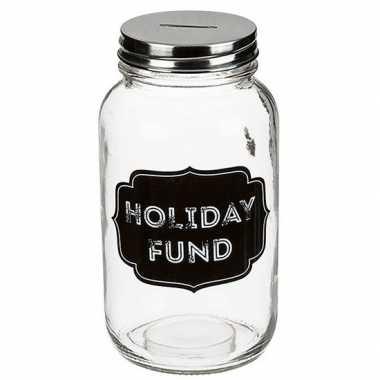 Carnavalskleding funny spaarpot holiday fund helmond