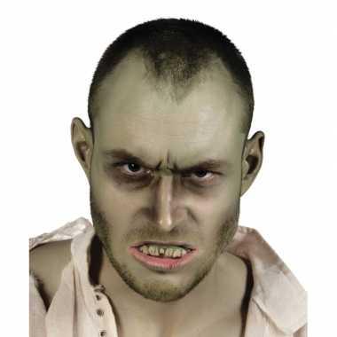 Carnavalskleding gebitje smerige zombie tanden helmond
