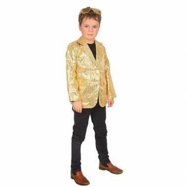 Carnavalskleding glitter feest verkleed vestje kinderen helmond