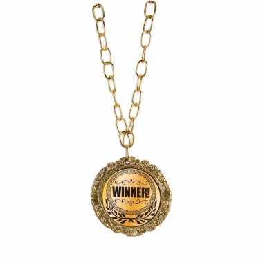 Carnavalskleding gouden wedstrijd medaille winnaar helmond