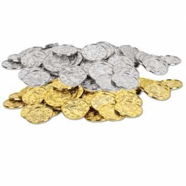 Carnavalskleding gouden zilveren oude munten x helmond