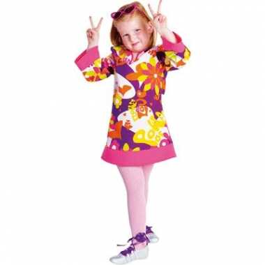 Carnavalskleding hippie jurk meiden helmond