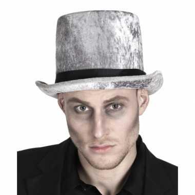 Carnavalskleding hoge grafgraver hoed heren helmond