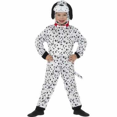 Carnavalskleding honden onesie dalmatier kids helmond