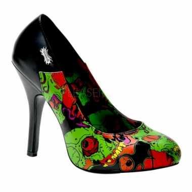 Lueur Célébration Dans Les Chaussures Vert Foncé Pour Les Femmes Riuty