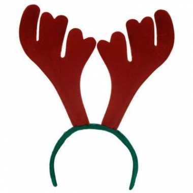 Carnavalskleding kerst haarband gewei helmond