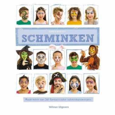 Carnavalskleding kinderen schminken boek helmond