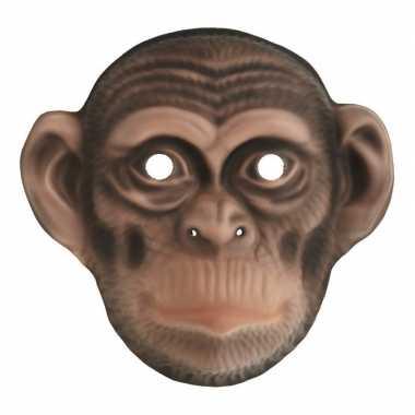 Carnavalskleding kindermasker apen chimpansee helmond