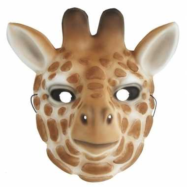 Carnavalskleding kindermasker giraffe helmond