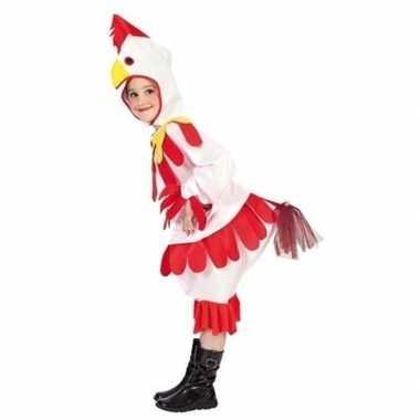 Carnavalskleding kip/haan kinderen helmond