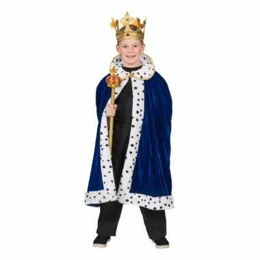 Carnavalskleding koning cape jongens helmond