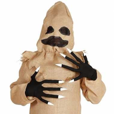 Carnavalskleding lange vingers halloween handschoenen helmond