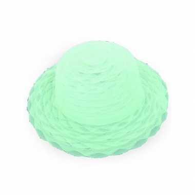 Carnavalskleding lime groene hoedjes helmond