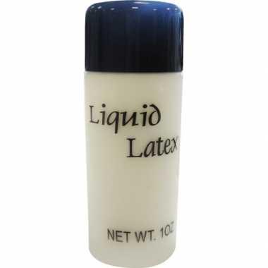 Carnavalskleding liquid latex flesje ml helmond