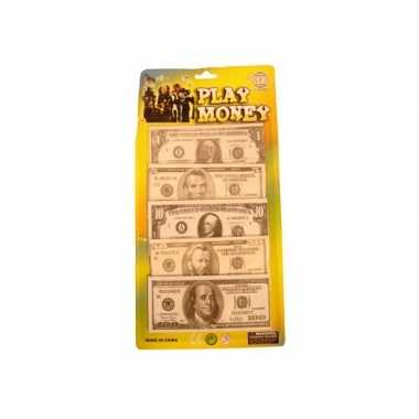 Carnavalskleding nepgeld dollars biljetten helmond